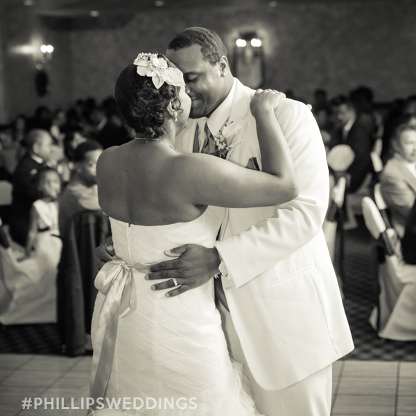 Los Angeles, CA black wedding photographer phillips fairy tale weddings