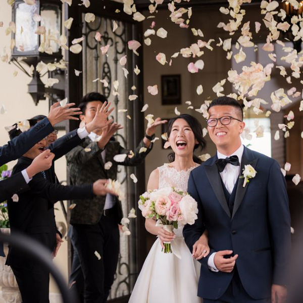 Los Angeles, CA asian wedding photographer phillips fairy tale weddings