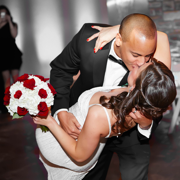 Baltimore, MD bride groom first dance phillips fairy tale weddings