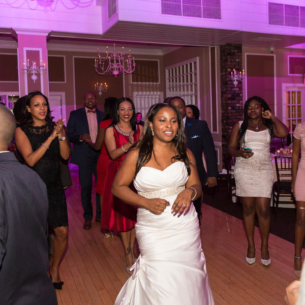 Baltimore, MD bridal party dance phillips fairy tale weddings