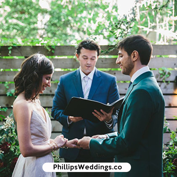 Atlanta, GA wedding officials phillips fairy tale weddings
