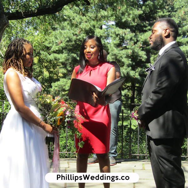Atlanta, GA female women wedding officiants phillips fairy tale weddings