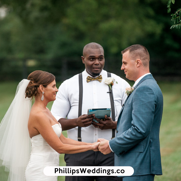 Atlanta, GA african american wedding officiants phillips fairy tale weddings