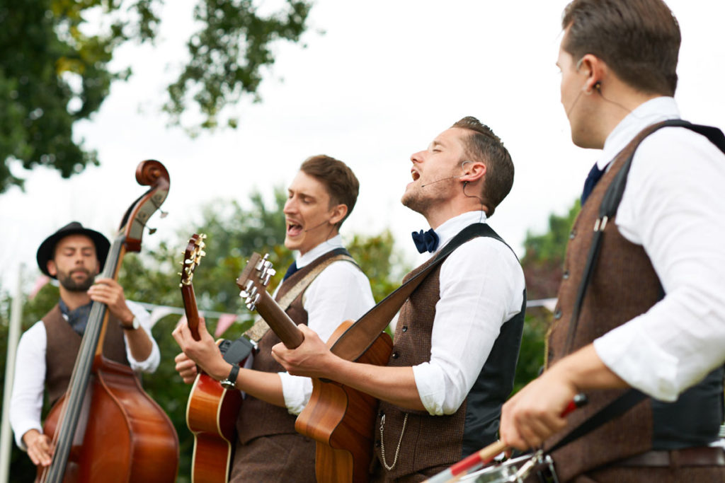 phillips fairy tale weddings hire wedding jazz band