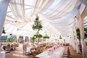Phillips fairy tale weddings renting a wedding tent